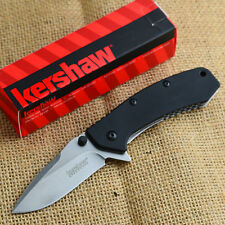Kershaw Cryo Hinderer G10 Handle 8Cr13MoV Plain Edge Assisted Open Knife 1555G10