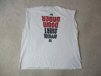 VINTAGE Nike Shirt Adult 2XL XXL White Red USA Olympics Australia Mens 90s *