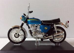 Aoshima Honda Dream CB750Four (KO) Japan 1:12 Scale Die-Cast Motorcycle Blue