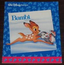 Book. Walt Disney's Bambi. ISBN 1-876317-04-3