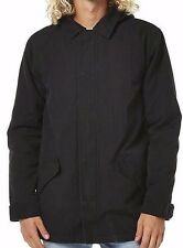 Men's BILLABONG Venture Black Winter Jacket Anorak, Size M. NWT, RRP $169.99.