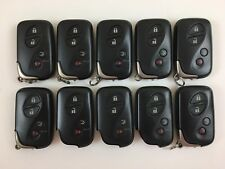 LOT OF 10 LEXUS 06-09 OEM SMART KEY LESS ENTRY REMOTE WITH UNCUT ES GS IS LS FOB