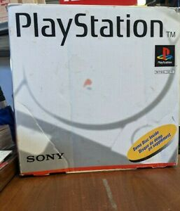 Sony PlayStation Launch Edition Gray Console SCPH-5501 *BOX ONLY* PS1