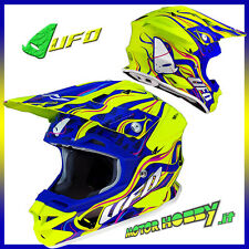 CASCO CROSS ENDURO MOTARD UFO INTERCEPTOR SIERRA NEW TAGLIA S (55-56)