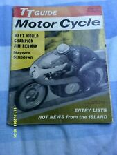 The Motor Cycle (6th june 1963) TT Guide Special
