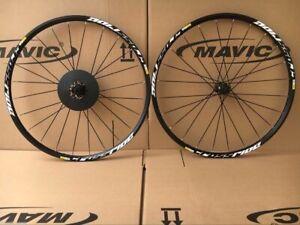 "Mavic Crossride 26"" MTB Disc bicycle Mountain Bike Wheels Wheelset Genuine Mavic"
