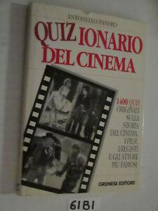 Panero QUIZZIONARIO DEL CINEMA (61B1)