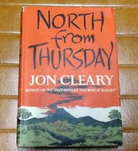 North from Thursday - Jon Cleary - 1960 1st ed H/C with jacket