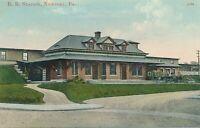 NEWPORT PA – Railroad Station