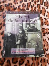 DUBY Georges, PERROT Michelle: Historia de las mujeres 8, XIXe - Taurus, 1993