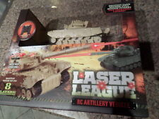 Laser League RC Artillery Vehicle Tan Tank New in Box MSRP $69.99