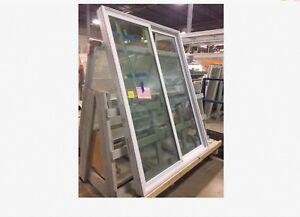 """sliding glass door 58.5"""" x 80"""" H full view outdoor"""
