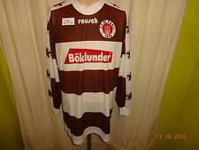 """FC St.Pauli Reusch Langarm Trikot 1995/96 """"Böklunder"""" Gr.XL/XXL TOP"""