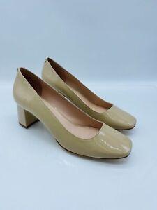 Kate Spade New York WMN Kylah Square-Toe Pumps Powder Patent Leather US 8.5M #X7