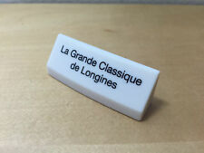 Plaque Présentoir - Hurst Plaque Longines - La Grande Classique de Longines