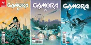 Gamora #1 2 3 (First Prints / Guardians of the Galaxy / Thanos / 2017 / NM)