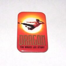 RARE 1993 DRAGON THE BRUCE LEE STORY MOVIE PROMO BUTTON - ENTER PIN