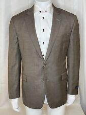 Brooks Brothers Regent fit Men's Tan SportCoat SZ 46R 2button 1vent 100%wool NWT