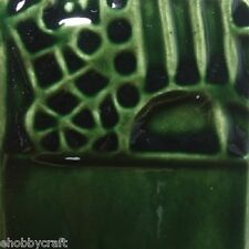 Mayco Elements Glaze - El219 - Lustre Green - 4 Ounce Jar