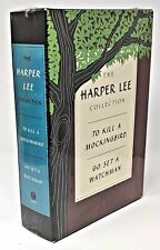 451Books-Harper Lee-Hard Cover Set-To Kill a Mockingbird -Go Set a Watchman-New!