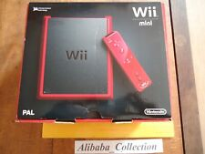 // NEUF Console Nintendo Wii Mini Red Edition ROUGE BOITE
