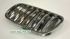 CHROMED FRONT & BLACK REAR GRILLE BMW X3/E83 X SERIES 2007-2009
