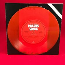 "ROGER TAYLOR Nazis 1994  UK 7"" RED Vinyl Single EXCELLENT CONDITION C 45"