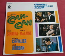 COLE'S PORTER CAN CAN LP BOF OST  SINATRA  MACLAINE  NELSON RIDDLE