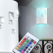 Led Rvb Lampe Murale Salle à Manger Cuisines Lumière Verre Cristal Grand Lumière