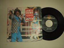 James Brown / Living In America–Disco Vinile 45 Giri Stampa Italia 1986