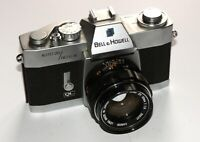 Bell and Howell Auto 35/Reflex with Canon EX 50mm f1.8 Lens