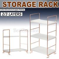 2/3 Shelf Shower Corner Rack Organizer Bathroom Bath Kitchen Storage Rack Holder