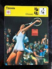 CHRIS EVERT 1979 Sportscaster Card #79-16 TENNIS