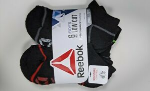 Reebok Boy's Low Cut Socks 12 Pairs / 12 pares de calcetines Reebok para niño