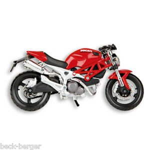 Ducati Maisto Ready Model Motorcycle Model Monster 696 1:18 Red New