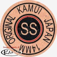 Kamui Original Brown Super Soft Pool Cue Tip 14mm Quantity 1 tip