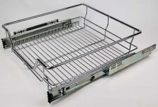 Wire Drawer with Ball Bearing Slides. 700mm Module. Chrome Finish
