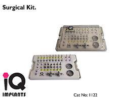 Full Surgical Kit. Dental Implants / Implant. Instruments.Sterilization Box.Lab.