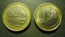 FINLANDIA BELLISSIMA MONETA EURO DA 1 EURO DEL 2000 POCO CIRCOLATA