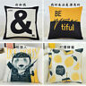 Cojines Sofa Waist Cushion Cover Pillowr Decorative Throw Pillowcase for Home