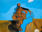 MAX ERNST The Kiss (1927) (60x46.5cm), CANVAS, POSTER FREE P&P