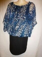 Crossroads Animal Print Casual Tops & Blouses for Women