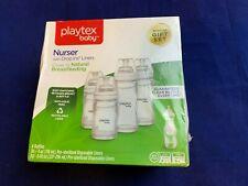 New listing Playtex Baby Drop-Ins Nursers With 60 Liners, 4 Bottles Feeding Newborn Gift Set