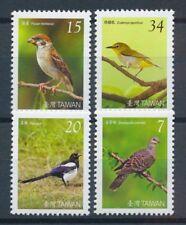 Briefmarken aus Asien mit Vögel-Motiv als Satz