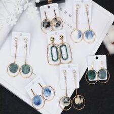 Women Charm Geometric Round Circle Drop/Dangle Hook Earrings Statement Jewellery