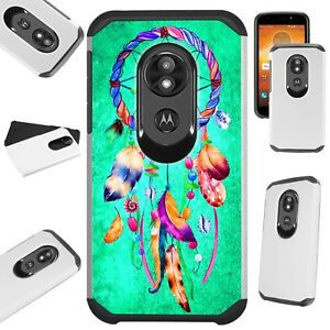 FUSION Case For Motorola Moto G7 Power/Supra/Plus Phone DREAM CATCHER TEAL