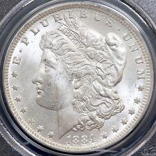 More details for america. dollar, 1884 o. morgan type. pcgs encapsulated, ms63.