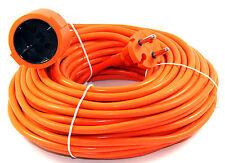 Câble de RALLONGE 20 m Orange Extension d'alimentation jardin COURANT 577