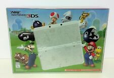 NEW Nintendo 3DS Super Mario White Black Friday limited console + BOX PROTECTOR