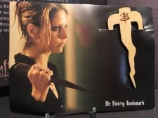Buffy The Vampire Slayer Wood Collectible Bookmark Mr. Pointy Loot Crate New